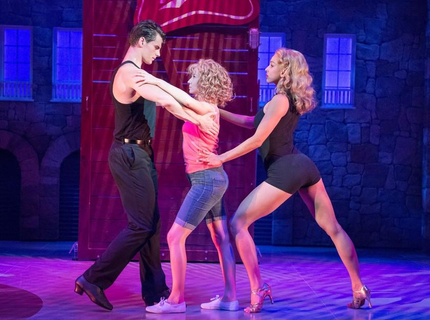 Patrick O'Reilly, Kira Malou and Simone Covele in Dirty Dancing