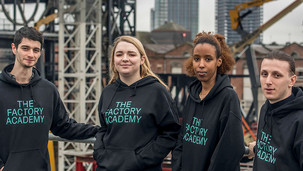 Factory Futures puts young people to creative work