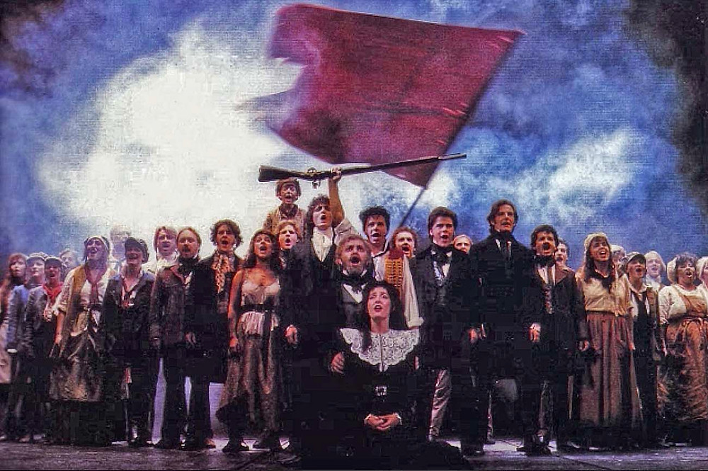 One of the many Les Miserables casts