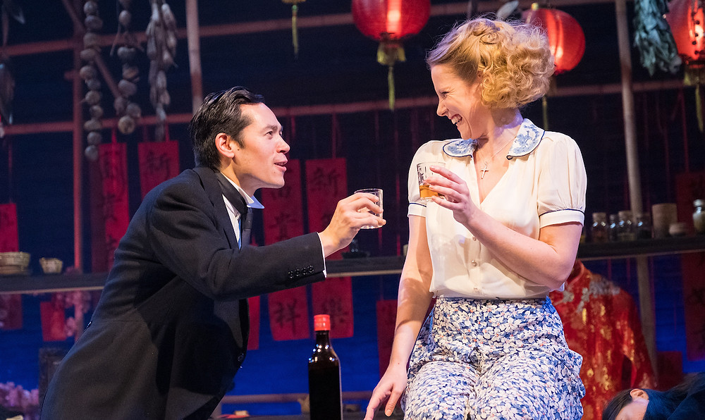 Sophie Robinson and Camille Mallet de Chauny in Storyhouse's Miss Julie. All pics: Mark McNulty