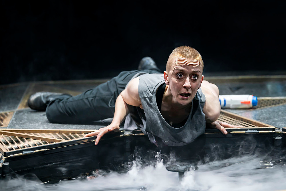 Macbeth (Lucy Ellinson) in The Royal Exchange's Macbeth. All pics: Johan Persson