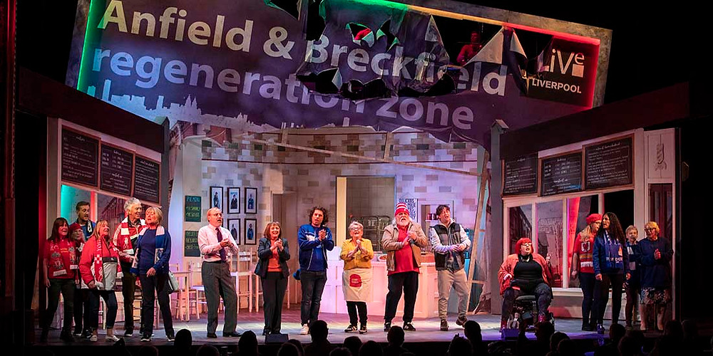The cast of Homebaked – The Musical at the Royal Court. All pics: Jason Roberts