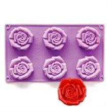 Baking Mold NY CAKE Rose silicone