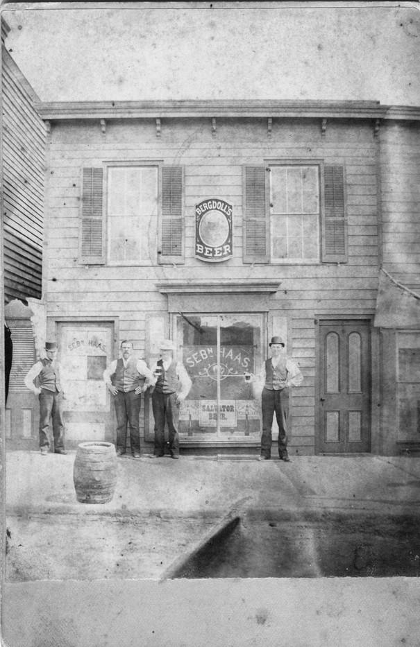Haas Store, 1886