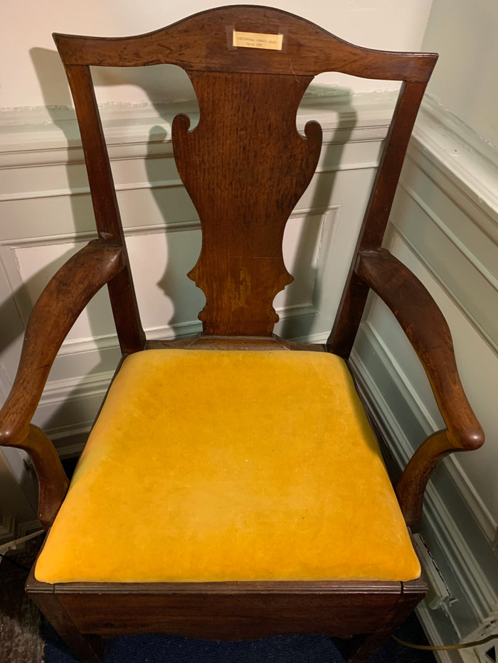 Chippendale Commode Chair, Circa 1780