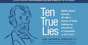 Feb. 15th Lecture with Renowned Lincoln Historian, Professor Allen Guelzo