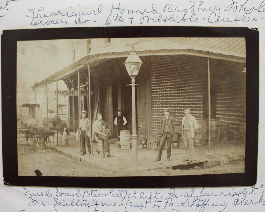 Howard Brothers Wholesale Grocery Co. circa 1885