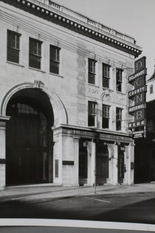 Delaware County National Bank, Chester.