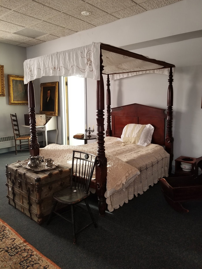 Staged Bedroom at DCHS