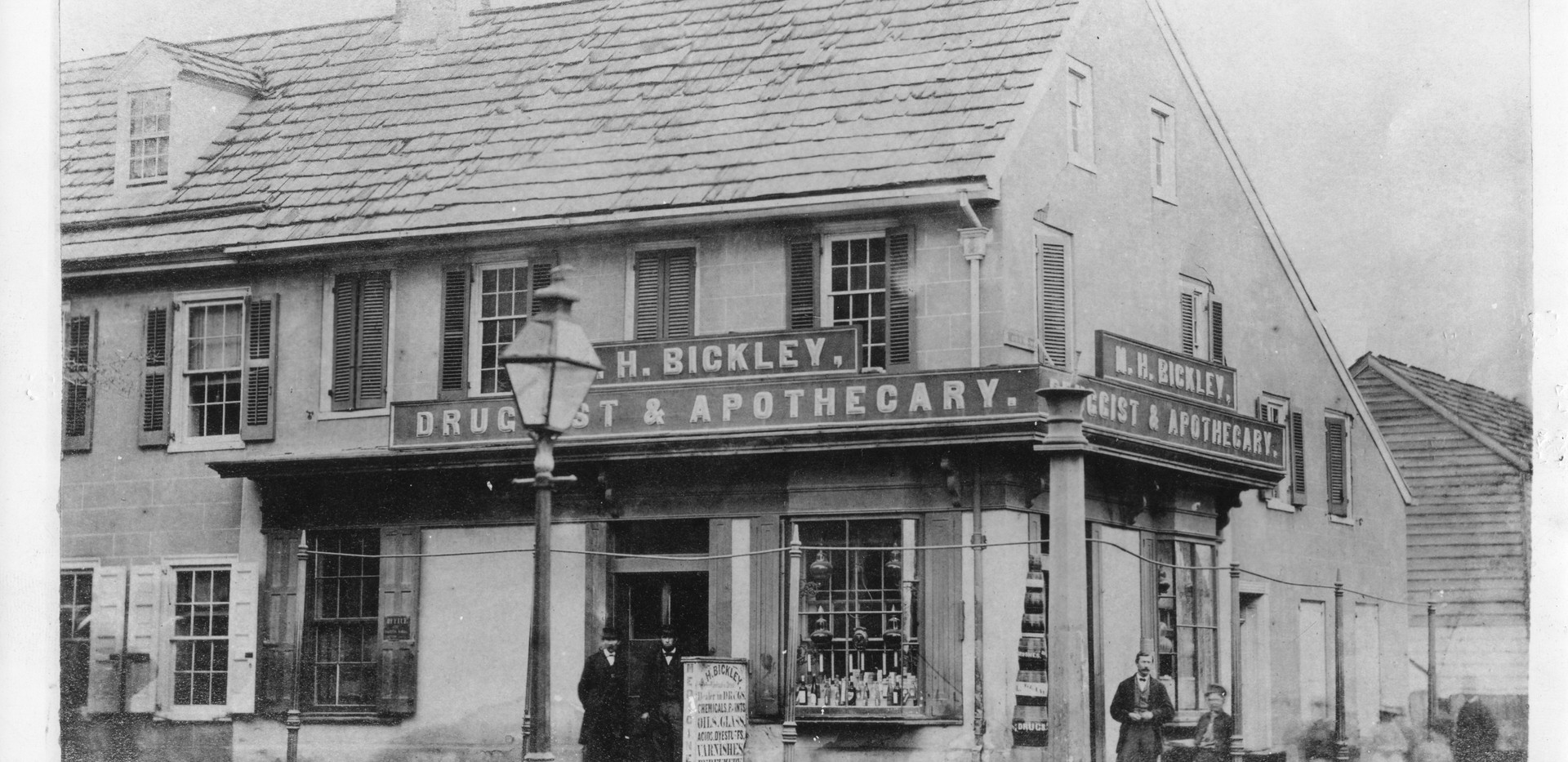 Bickley Drug Store 1860s