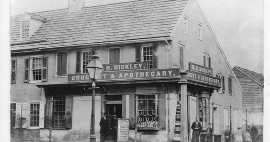Bickley Drug Store 1860s