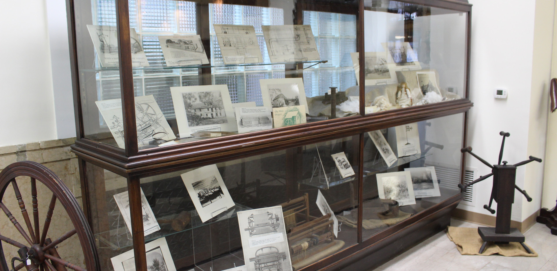 Delaware County Mills Display