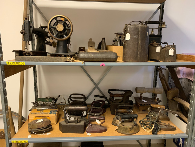 Irons and other home tools
