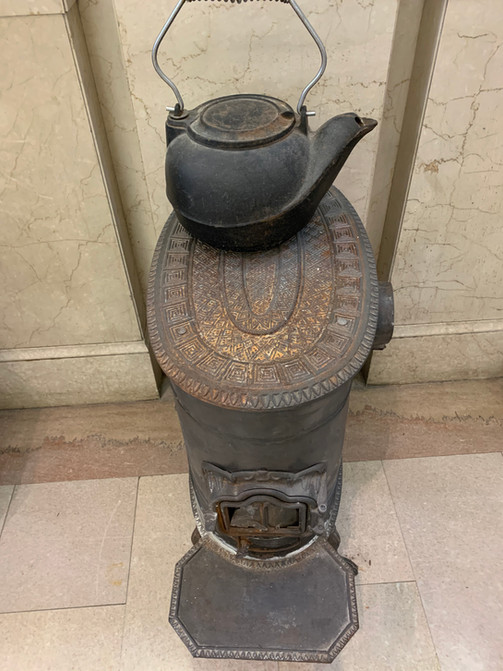 1724 Chester Courthouse Stove & Kettle
