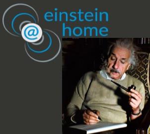איינשטיין בבית