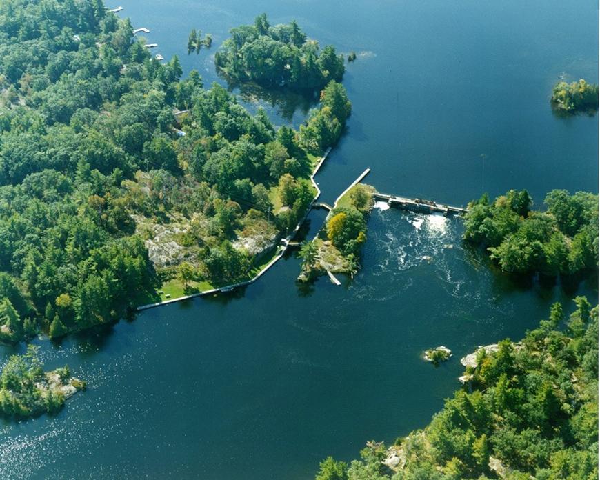 Lovesick Lake Ontario Aerial Picture