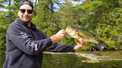 Lovesick Lake Ontario Fishing - Large Mouth Bass