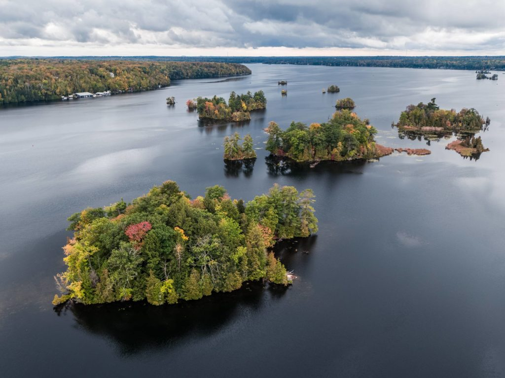 Lovesick Lake Ontario Aerial Picture