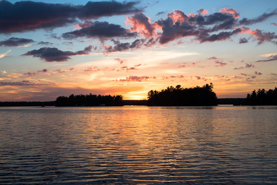 Lovesick Lake Ontario Sunset Picture