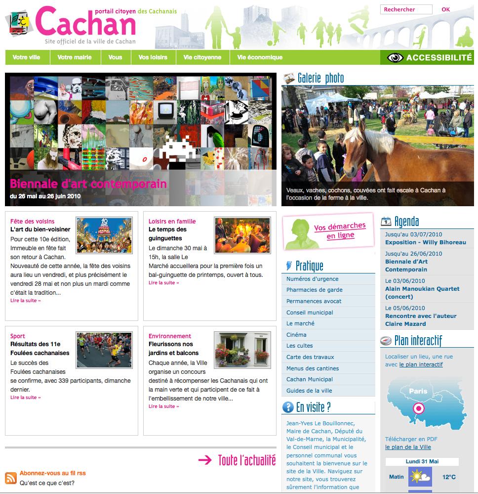 VILLE DE CACHAN pour meanings