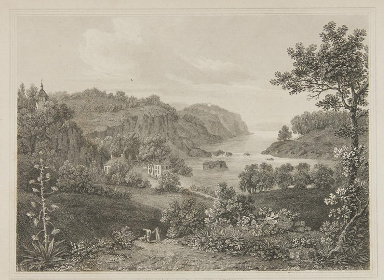 View on the River Schuylkill Near Philadelphia