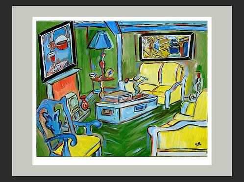 Living Room fine art print