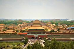 Vista del Palacio Imperial desde la Coli