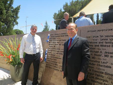 Chair ceremony, Jerusalem 17.6.13