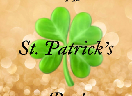 Happy St. Patrick's Day!  Find fun things to do inside/outside while providing #socialdistancing.