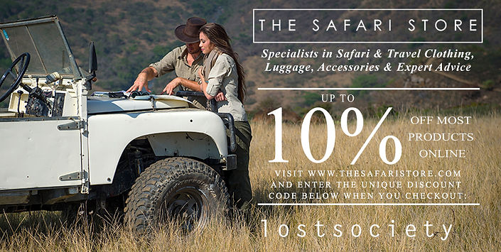 The Lost Society South Africa safari