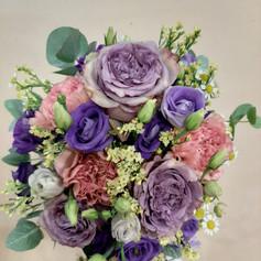 Fialové ruže