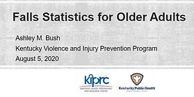 Fallls stats for older adults presentati