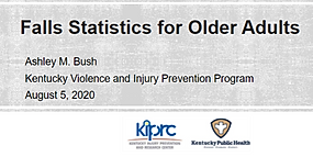 Fallls stats for older adults presentati