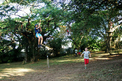 Zipline & high ropes course