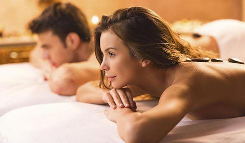 massagem casal