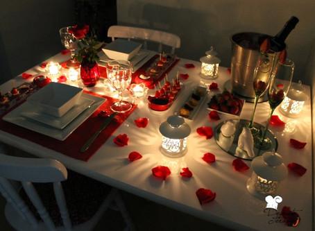 Planeie a noite perfeita para o Dia de São Valentim