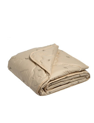 """Одеяло стеганое облегченное """"Верблюжья шерсть"""""""