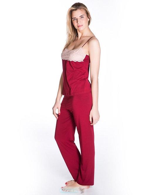 Комплект ROSE&PETAL  (топ+брюки)