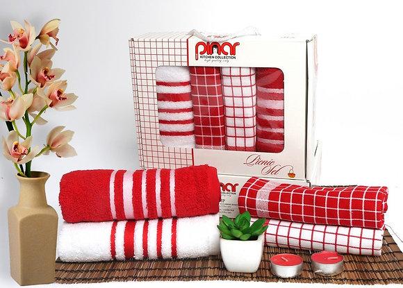 Полотенца-салфетки Pinar (4 шт)