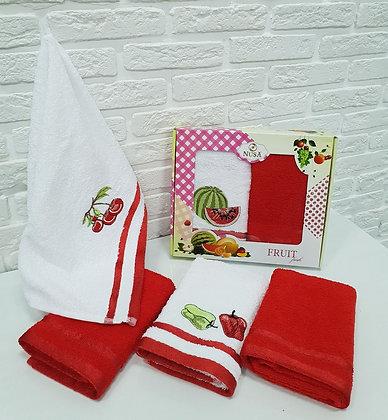 Турецкие кухонные полотенца(2шт*30*50см)