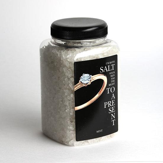 Соль для ванны с мятой в подарок от 500р.