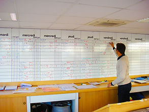 Planing automobile Bobigny