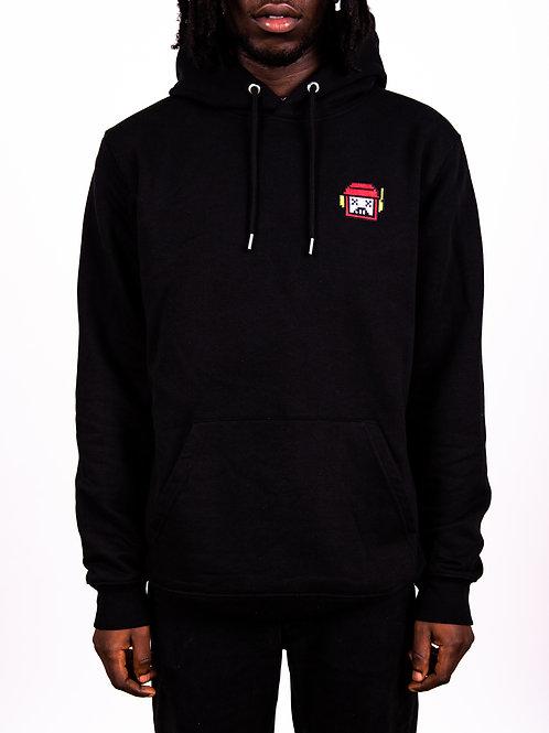 Black Essential Hoody