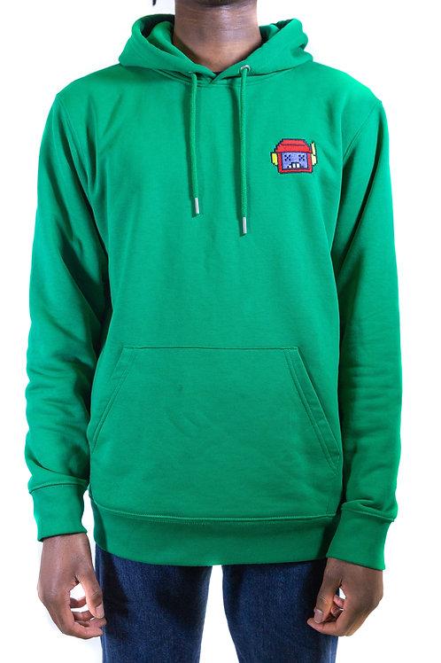 Varsity Green Hoody