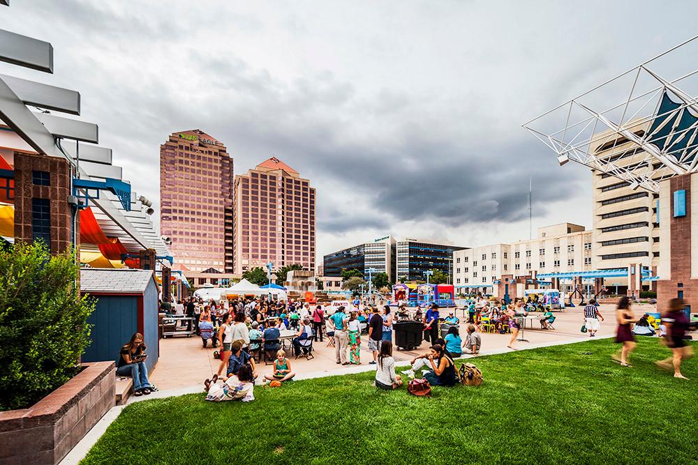 Downtown Civic Plaza