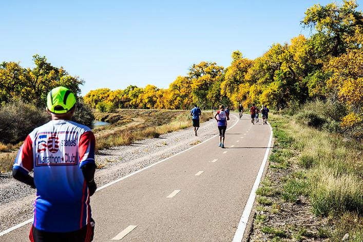 Bosque Running Path