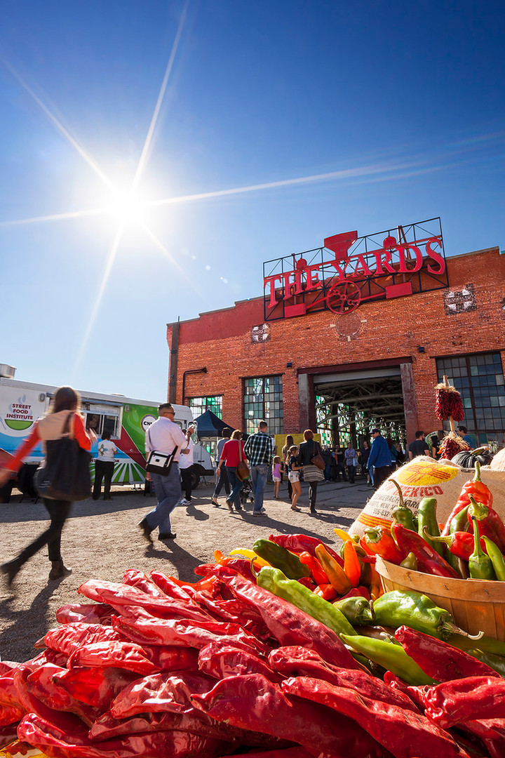 Rail Yards Market in Barelas, NM