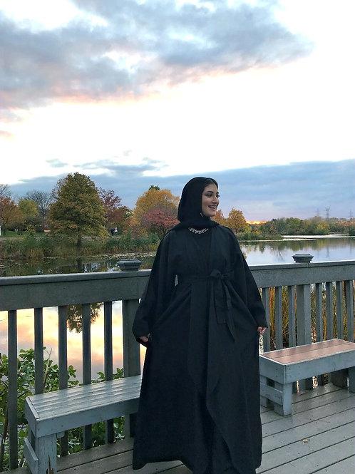 Jasmine Classic Black Abaya