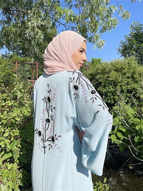 Sapphire Sky Abaya