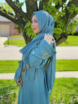 Mariam in Baby Blue Bellflower